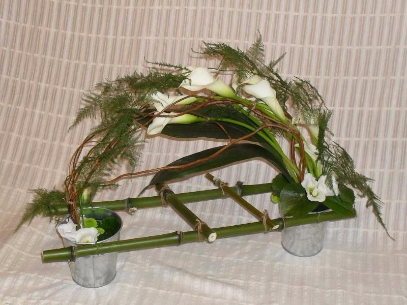 Composition florale mariage deuil f te des m res mouy - Compo florale mariage ...