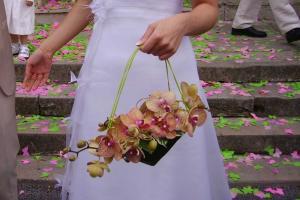 Panier de mariée